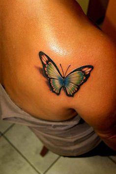 tattoos for women   3D Butterfly Tattoos for Women   My Wallpaper Blog