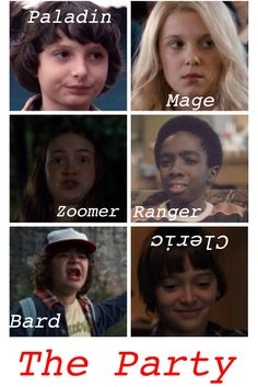 This is new that I made on my phone. It's not the best but I was bored so I made it. Also this is an original by Sanaa Brown so don't repin without leaving creds. I'm completely aware that mage and zoomer is not a part of D&D it's just what the show used for El and Max.