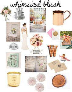 whimsical blush wedding inspiration