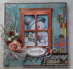 Shaker Christmas Card - Carte de Noël, type shaker. http://au-deladesimages.blogspot.ca/2013/02/shaker-christmas-card-carte-de-noel.html