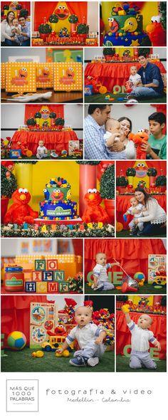 PRIMER CUMPLEAÑOS JUANSE Con la misma energía que Elmo canta, Juan Sebastián se divirtió en su primer cumpleaños, rodeado de mucho color, amigos y familiares. Esta vez fue César quien tomó las fotos de este lindo día.