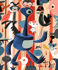 Tim Biskup - Lowbrow Art
