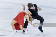 News Photo : Ashlynne Stairs and Lee Royer of Canada compete...