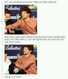 How can you not love Louis? ❤