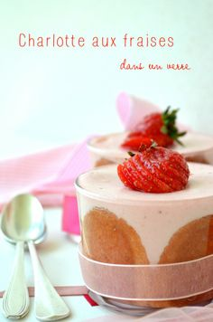 Desserts Archives - Page 4 sur 6 - Voyage Gourmand Cheesecake Leger, Mini Charlotte, Kinds Of Desserts, I Foods, Panna Cotta, Food Photography, Strawberry, Pudding, Cooking