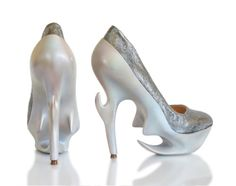 "Anastasia Radevich shoe collection ""Lost Civilisations"" (image: stylebubble)"
