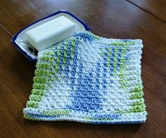 Ravelry: Three-Stitch Spa Cloth pattern by Beth Graham