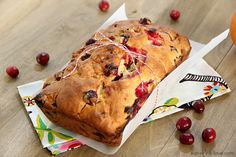 Cranberry Orange Bread and Bing's Food and Drink App - Eat. Drink. Love.