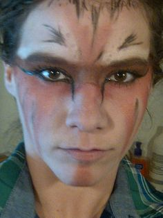 """""""PUT ON YOUR WAR PAINT"""" - Phoenix-by FallOutBoy - the Save rock and Roll album was my soundtrack while i dolled myself up and got in touch with my foxydaisy alter ego."""