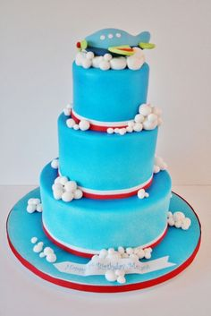 Baby Plane Specialty Cake
