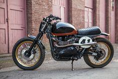 Teeth Gnasher: a race-ready Triumph Scrambler bike by See See Motor Coffee Co.