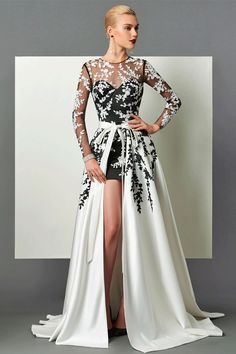 25ce3981295 Extra Off Coupon So Cheap women Long Sleeve Appliques Sashes Court Train  Evening Party Wedding Dress SZ 12