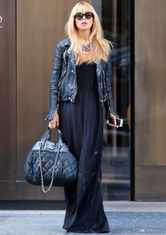 Rachel Zoe... Love the Chanel bag