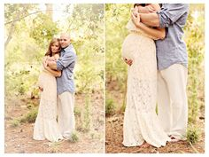 Enchanted Garden Maternity Session » Brandi Smyth Photography