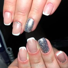 Beautiful French Nail Art Designs For You / Gorgeous & Creative Manicure Style French Nail Designs, Nail Art Designs, French Nails, Nailart, Short Nails, Manicure, Handsome, Design Ideas, Inspiration