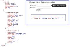 Simple Tooltip using HTML CSS | mindstick.com