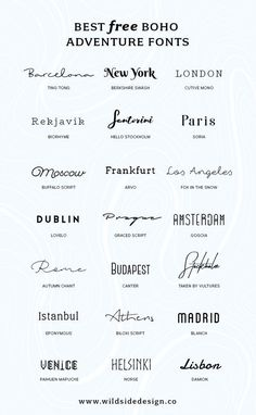 I& put together a list of my favorite, boho and adventure styled fonts tha. - I& put together a list of my favorite, boho and adventure styled fonts that are fo& - Tattoo Writing Styles, Tattoo Writing Fonts, Tattoo Font Styles, Writing Tattoos On Arm, Tattoo Designs, Writing Styles Fonts, Lettering Styles, Mädchen Tattoo, Sternum Tattoo