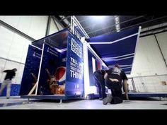 Dynamic experiential pop-up environment for Pepsi
