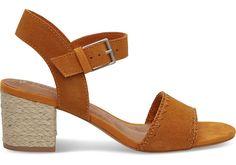 Birch Suede Women's Rosa Sandals | TOMS®