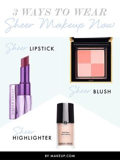 Have you seen this sheer makeup trend yet? Here are three easy ways to wear this gorgeous eye shadow look!