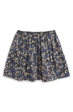 Burberry 'Gabriella' Flower Print Skirt (Little Girls & Big Girls)
