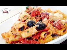 Pasta tonno e pomodori secchi - YouTube