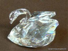 Lot # : 279 - Trio of Swarovski Crystal Miniature Collectibles