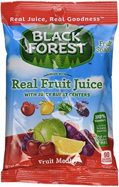 Black Forest Fruit Snacks with Juicy Burst Centers Fruit Medley 4 Ounce Bag -- For more information, visit image link.Note:It is affiliate link to Amazon. #commentbackteam