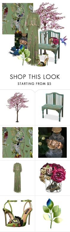 """Untitled #13"" by ccmonkvintage on Polyvore featuring Butler Specialty Company, Timorous Beasties, Paper Whites, Dsquared2 and Katherine's Collection"