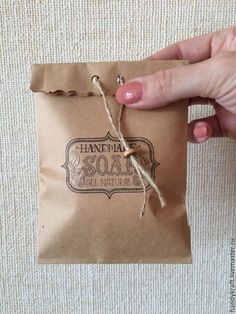 Купить Крафт-пакет с рисунком 10х19,5 см - коричневый, бумажный пакет, пакет
