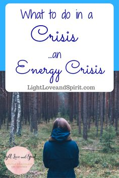 What to do in a crisis. Energy Crisis!