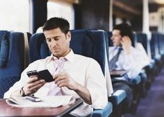 Use business travel time constructively.