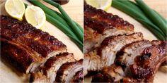 En realidad, a la propia salsa barbacoa se le añaden en esta receta más ingredientes para conseguir un resultado exquisito. ¡No te lo pierdas! Salsa Barbacoa, French Toast, Pork, Meat, Breakfast, Google, Rib Recipes, Cooking