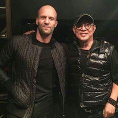 Jason Statham and Jet Li