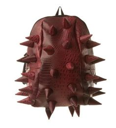 Madpax Dinosaur Spikes Full Backpack - Later Gator Red-tillion by Madpax. $59.99. Hot Collection Products. MADPAX DINOSAUR SPIKES FULL BACKPACK - LATER GATOR RED-TILLION: This backpack part Jurassic creature, part swamp gator is rugged, durable and ready for adventure. The reddish coloration and spiny texture make a fashion statement that puts your kid at the center of what's going on. Your child will be excited about heading off to school with this on his back. Kids o...