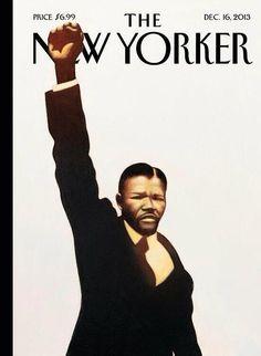 Une du New Yorker pour la mort de Nelson Mandela