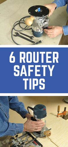 6 Router Safety Tips To Help You Work Safer | Prodvided by WWGOA
