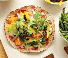 Carrie Underwood's No-Guilt Veggie Pizza