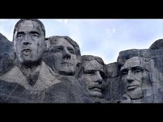 IMPORTANT DREAM FROM THE LORD! OBAMAS FACE ON MT RUSHMORE! SMEARS OTHER PRESIDENTS FACES!!! - YouTube