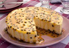 Bolo-Torta Mousse de Maracujá Diferente