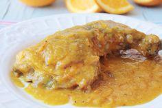 Cómo hacer pollo a la naranja