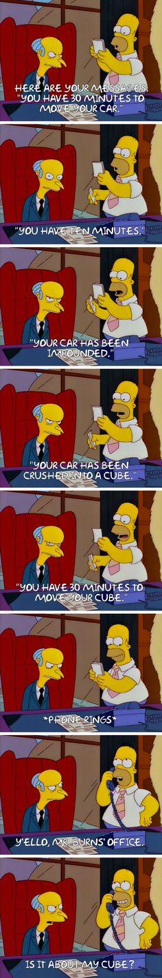 """""""Homer Simpson, smiling politely."""""""