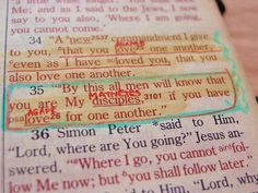 John By this all men will know that you are My disciples, if you have love for one another. What Is Bible, John 13 35, Son Of David, Serving Others, Finding God, Favorite Bible Verses, Life Thoughts, Praise God