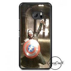 Loki Captain America And Thor HTC One M10 Case