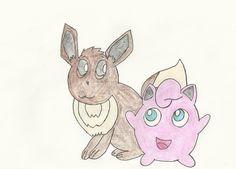 Pokemon Conquest Starters by Rebeccachu-Chan.deviantart.com on @DeviantArt