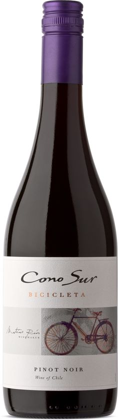 """Cono Sur is a label that is among the most beloved in the province. The combination of price, and some degree of environmental sensitivity have kept the label moving briskly. It was a surprisingly dark wine for a Pinot Noir, more purple than strawberry coloured. The bouquet has some of the leathery and smoky notes that are the hallmark of of the grape, backed up by red fruit... a nicely made young Pinot Noir."""