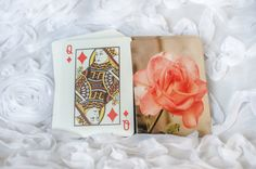 Deck of Playing CardsVintage Pink by TimeisPreciousPhotos on Etsy