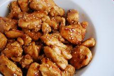 Light Sesame Chicken Recipe