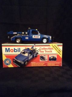 NIB 1995 1:24 Scale Limited Edition Mobile 1 Collectible Emergency Truck W/COA