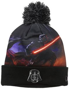 0622a8e40bccd Beanies and Knit Hats · Star Wars Men s All Out Darth Vader Pom Beanie    Price   24.95   FREE